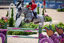KRAUT Laura (USA), Zeremonie<br /> Tryon - FEI World Equestrian Games™ 2018<br /> 2. Qualifikation Teamwertung 1. Runde<br /> 20. September 2018<br /> © www.sportfotos-lafrentz.de/Stefan Lafrentz