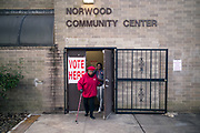 BIRMINGHAM, AL – DECEMBER 12, 2017: Residents of Birmingham's historic Norwood neighborhood turn out to vote in Alabama's Special General Election for the United States Senate in the early morning hours.  CREDIT: Bob Miller for The New York Times