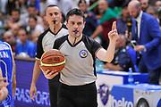 DESCRIZIONE : Campionato 2014/15 Serie A Beko Dinamo Banco di Sardegna Sassari - Grissin Bon Reggio Emilia Finale Playoff Gara4<br /> GIOCATORE : Michele Rossi<br /> CATEGORIA : Arbitro Referee<br /> SQUADRA : AIAP<br /> EVENTO : LegaBasket Serie A Beko 2014/2015<br /> GARA : Dinamo Banco di Sardegna Sassari - Grissin Bon Reggio Emilia Finale Playoff Gara4<br /> DATA : 20/06/2015<br /> SPORT : Pallacanestro <br /> AUTORE : Agenzia Ciamillo-Castoria/L.Canu