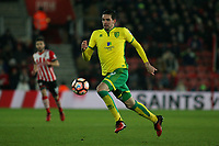Football - 2016 / 2017 FA Cup - Third Round Replay: Southampton vs. Norwich City<br /> <br /> Kyle Lafferty of Norwich City in action at St Mary's Stadium Southampton England<br /> <br /> COLORSPORTt/SHAUN BOGGUST