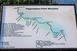 Papanalahoa Point Interpretive Panel