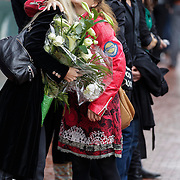 NLD/Amstelveen/20120917 - Uitvaart Rosemarie Smid - Giesen van der Sluis, Joke de Kruijff en Maaike Widdershoven