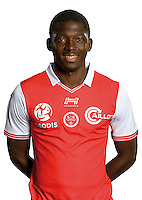 Hamari Traore of Reims during the photocall of Reims for new season of Ligue 2 on September 29th 2016 in Reims<br /> Photo : Stade de Reims / Icon Sport