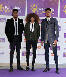 Diversity attending the annual WellChild Awards at The Dorchester Hotel, London.