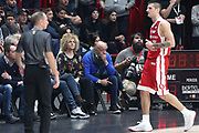 La Presidentessa della Germani Basket Bragaglio Graziella, EA7 Emporio Armani Milano vs Germani Basket Brescia - 12 giornata Campionato LBA 2017/2018, Milano Mediolanum Forum 26 dicembre 2017 - foto BERTANI/Ciamillo