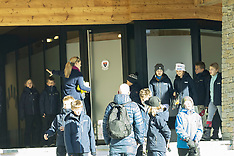 The Crown Prince Couple's four children go on a school stay in Switzerland - 7 Jan 2020