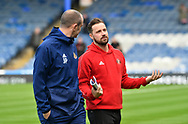 Sunderland midfielder Chris Maguire (7) (right) ahead of the EFL Sky Bet League 1 match between Portsmouth and Sunderland at Fratton Park, Portsmouth, England on 22 December 2018.
