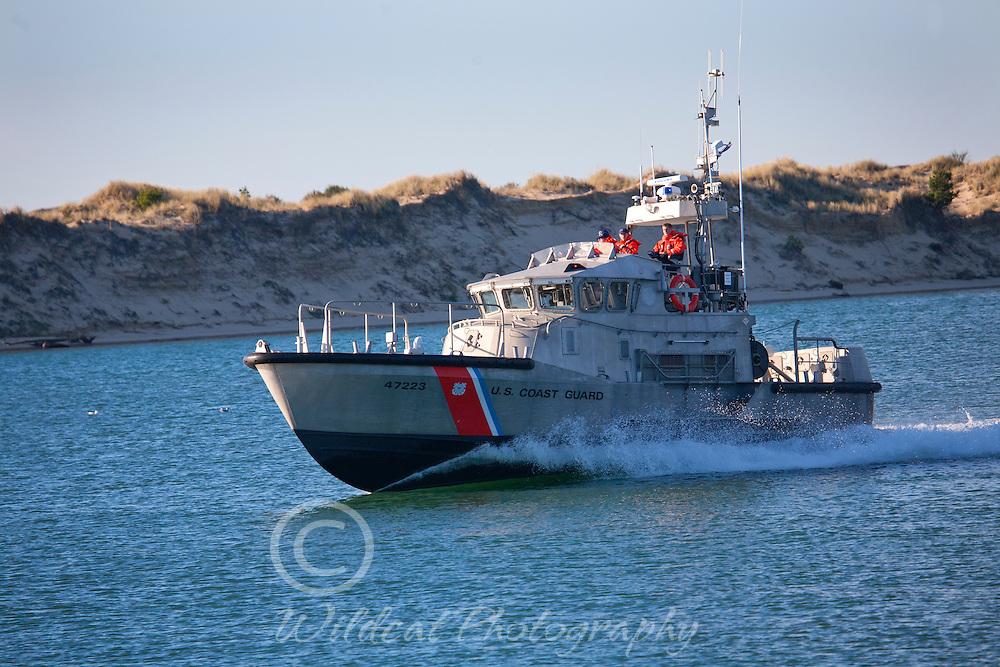 Coast Guard on the job.