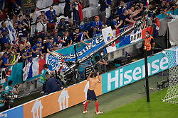 Raphael Varane of France salutes the fans after the UEFA Euro 2020 Championship Group F match between France and Germany at Allianz Arena, on June 15, 2021 in Bavaria, Munich, Germany. Photo by David Niviere/ABACAPRESS.COM