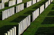 WARLENCOURT BRITISH CEMETERY, SOMME, FRANCE. 11/02.FIRST WORLD WAR CEMETERY.COMMONWEALTH WAR GRAVES COMMISSION.COPYRIGHT OWNED PHOTOGRAPH BY BRIAN HARRIS.0044 (0) 7808-579804.NO UNAUTHORISED USE WITHOUT PERMISSION.