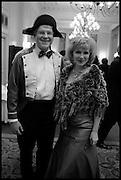 JAMES BROWN; LANA CHICHINA, The St. Petersburg Ball. In aid of the Children's Burns Trust. The Landmark Hotel. Marylebone Rd. London. 14 February 2015.