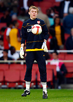 Charlie Mann of Arsenal   FA Cup Youth Semi-Final 2nd Leg <br /> Arsenal Youth v Manchester City Youth at  Emirates Stadium London<br /> 22/04/2009. Credit Colorsport /  Kieran Galvin
