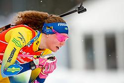 March 16, 2019 - –Stersund, Sweden - 190316 Hanna Öberg of Sweden competes in the Women's 4x6 km Relay during the IBU World Championships Biathlon on March 16, 2019 in Östersund..Photo: Johan Axelsson / BILDBYRÃ…N / Cop 245 (Credit Image: © Johan Axelsson/Bildbyran via ZUMA Press)