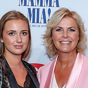 NLD/Utrecht/20180923 - Premiere Mamma Mia, Irene Moors en dochter Rosalie