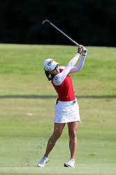 March 3, 2019 - Singapore - Minjee Lee of Australia plays a shot on the 2nd hole during the final round of the Women's World Championship at the Tanjong Course, Sentosa Golf Club. (Credit Image: © Paul Miller/ZUMA Wire)