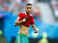 Hakim Ziyach (Morocco)<br /> Saint Petersburg 15-06-2018 Football FIFA World Cup Russia  2018 <br /> Morocco - Iran / Marocco - Iran <br /> Foto Matteo Ciambelli/Insidefoto