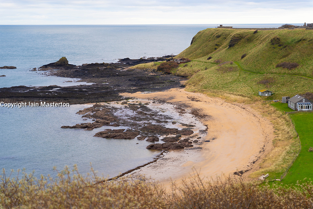 Beach at Canty Bay, East Lothian, Scotland,UK