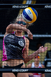 Alexia Richard FRA in action during the second day of the beach volleyball event King of the Court at Jaarbeursplein on September 10, 2020 in Utrecht.