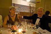 COLLEENE FESKO; EDGAR ASTAIRE, Otello at the Grosses Festspielhaus and afterwards  Gala dinner at the Donald Kahn lounge.  Salzburg.  Amadeus Weekend. Salzburg. 24 August 2008.  *** Local Caption *** -DO NOT ARCHIVE-© Copyright Photograph by Dafydd Jones. 248 Clapham Rd. London SW9 0PZ. Tel 0207 820 0771. www.dafjones.com.