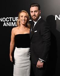 The cast of 'Nocturnal Animals' attend a special screening of the Tom Ford film in Los Angeles. 11 Nov 2016 Pictured: Aaron Taylor-Johnson, Sam Taylor-Johnson. Photo credit: American Foto Features / MEGA TheMegaAgency.com +1 888 505 6342