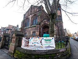 Al Farooq Mosque, formerly a church, in Govanhill , Glasgow , United Kingdom