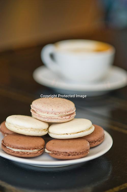 Editorial food photography at Meridienne Dessert Salon in Rogers, Arkansas.