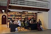 Interior of the Black Diamond library, Copenhagen, Denmark