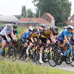 KNOKKE HEIST (BEL) July 10 CYCLING: 2nd Stage Baloise Belgium tour: Romy Kasper: Mieke Kroeger: Emma Boogaard