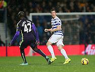 QPR's Joey Barton in action<br /> <br /> - Barclays Premier League - Queens Park Rangers vs Manchester City- Loftus Road - London - England - 8th November 2014  - Picture David Klein/Sportimage