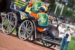 Theo Timmerman, (NED), Boy, Dani, Draco, Mister, Rodina - Driving Marathon - Alltech FEI World Equestrian Games™ 2014 - Normandy, France.<br /> © Hippo Foto Team - Jon Stroud<br /> 06/09/2014