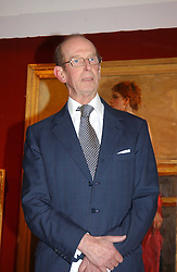 HRH the DUKE OF KENT  at the Royal Society of Portrait Painters annual show held at The Mall Galleries, The Mall, London on 26th April 2005.<br /><br />NON EXCLUSIVE - WORLD RIGHTS