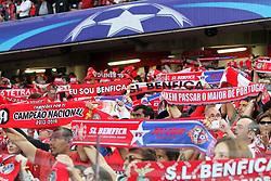 September 12, 2017 - Lisbon, Portugal - Benfica's supporters during UEFA Champions League football match SL Benfica vs CSKA Moscow at the Luz stadium in Lisbon, Portugal on September 12, 2017. Photo: Pedro Fiuza  (Credit Image: © Pedro Fiuza/NurPhoto via ZUMA Press)
