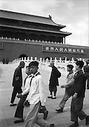 C008-33 Tom Hutchins_Young Pioneers and soldiers marching in front of Tien An Men, Peking (Beijing) 1956.tif