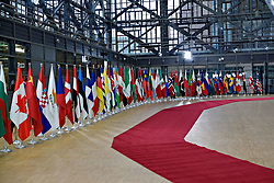 April 5, 2017 - BrüKsel, Belçika - Supporting the future of Syria and the region conference in Brussels, Belgium on   Apr. 05, 2017. (Credit Image: © Depo Photos via ZUMA Wire)