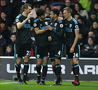Football - 2016 / 2017 Premier League - Southampton vs. West Bromwich Albion<br /> <br /> Hal Robson-Kanu of West Bromwich Albion celebrates his goal with team mates Gareth Mcauley Claudio Yacob and Darren Fletcher at St Mary's Stadium Southampton England<br /> <br /> COLORSPORT/SHAUN BOGGUST