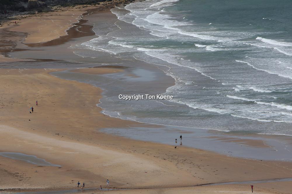 beach at the Northern Ireland coast