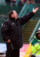 Photo: Alan Crowhurst.<br />Brighton & Hove Albion v Bristol City. Coca Cola League 1. 24/02/2007. Bristol manager Gary Johnson.