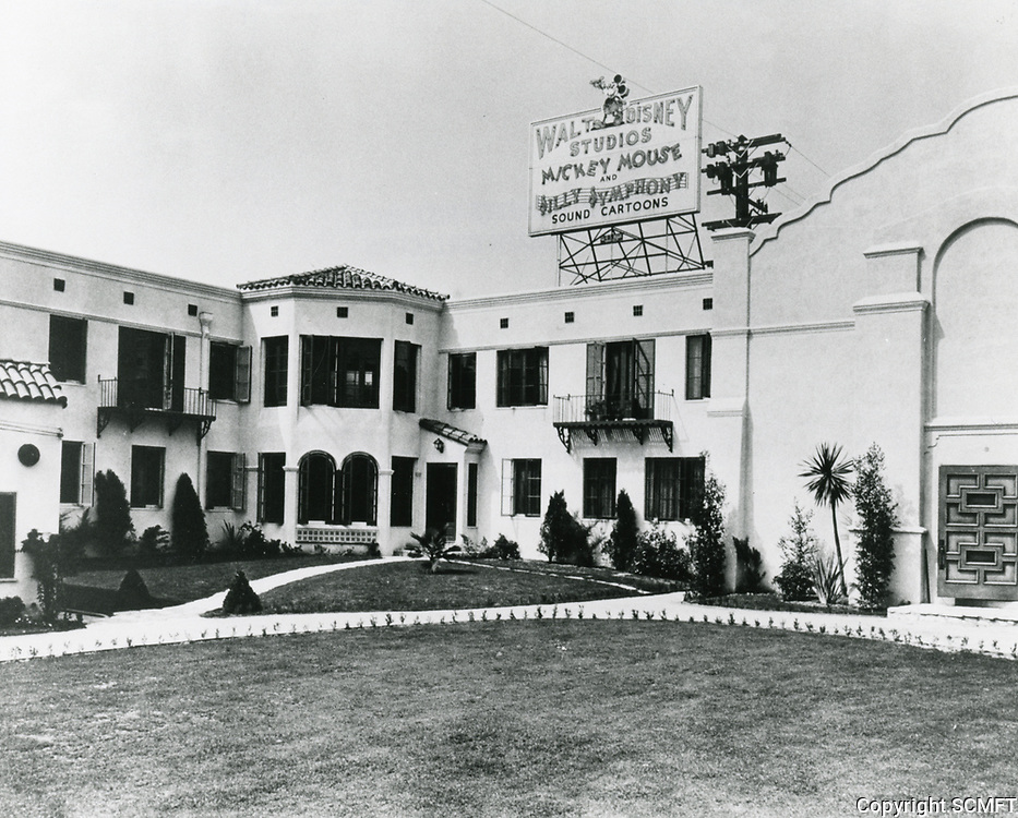 1933 Disney Studios on Hyperion Ave.