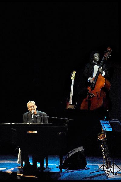 Nederland, Nijmegen, 10-2-2007 ..Paolo Conte in de Vereeniging.Ook wel de zingende advocaat genoemd...Foto: Flip Franssen
