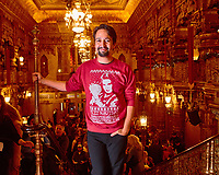 Lin Manuel Miranda at the Mary Poppins Returns Premiere at The United Palace in New York City