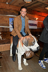 SPENCER MATTHEWS at Skiing With Heroes Junior Committee Awareness Party held at Bodo's Schloss, 2A Kensington High Street, London on 6th November 2014.