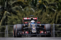 GROSJEAN romain (fra) lotus mercedes e23 hybrid action during 2015 Formula 1 FIA world championship, Malaysia Grand Prix, at Sepang from March 27th to 30th. Photo Francois Flamand / DPPI