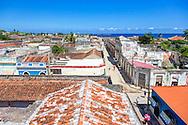 A renovated hotel in Gibara, Holguin, Cuba.