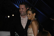Chris Moyles and Rachel Stevens, The 7th GQ Man of the Year Awards, Royal Opera House. 7 September 2004. In association with Armani Mania. SUPPLIED FOR ONE-TIME USE ONLY-DO NOT ARCHIVE. © Copyright Photograph by Dafydd Jones 66 Stockwell Park Rd. London SW9 0DA Tel 020 7733 0108 www.dafjones.com