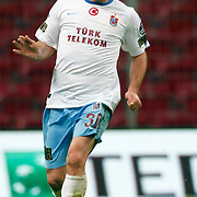 Trabzonspor's Serkan BALCI during their Turkish superleague soccer derby match Galatasaray between Trabzonspor at the TT Arena in Istanbul Turkey on Sunday, 10 April 2011. Photo by TURKPIX