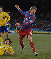 Fotball<br /> England<br /> Foto: Colorsport/Digitalsport<br /> NORWAY ONLY<br /> <br /> 03.01.2010<br /> Football - Crystal Palace v Preston North End  03/01/2011 Steffen Iversen (Palace) playing in his debut game.