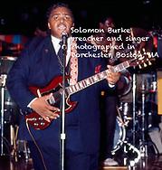 Solomon Burke preacher and singer