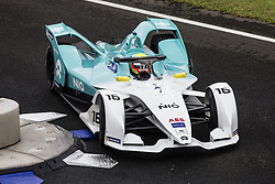October 19, 2018 - Valencia, Spain - 16 TURVEY Oliver (gbr), NIO Formula E Team during the Formula E official pre-season test at Circuit Ricardo Tormo in Valencia on October 16, 17, 18 and 19, 2018. (Credit Image: © Xavier Bonilla/NurPhoto via ZUMA Press)