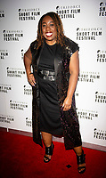 Chizzy Akudolu at the TriForce Short Film Festival gala ceremony, BFI Southbank, London, UK - 30 Nov 2019