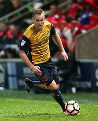 Gustav Engvall of Bristol City - Mandatory by-line: Matt McNulty/JMP - 17/01/2017 - FOOTBALL - Highbury Stadium - Fleetwood,  - Fleetwood Town v Bristol City - Emirates FA Cup Third Round Replay